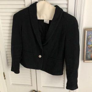 Chanel Vintage Black Blazer